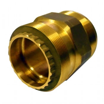 Brass cold forming adapter