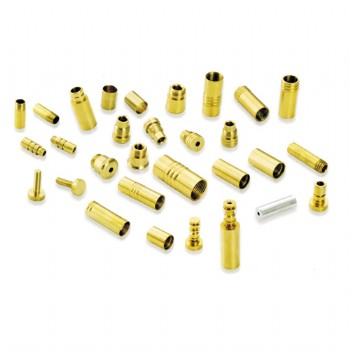brass precision machining adapters