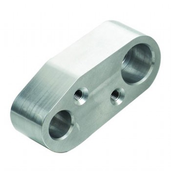 CNC machined aluminum plate/support