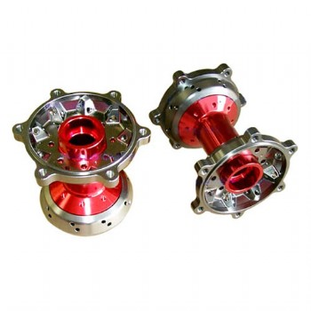 CNC machined wheel hubs