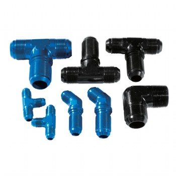 Forge aluminum fittings