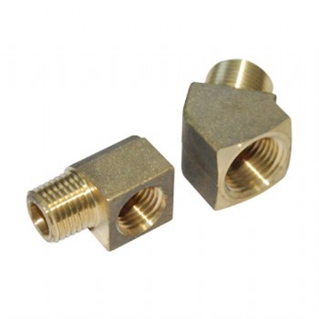 Forged brass connectors