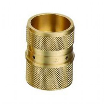 precision machined brass telecommunication connector