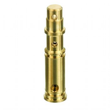 precision machined brass telecommunication fittings