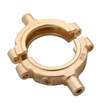 Sand casting brass clamp