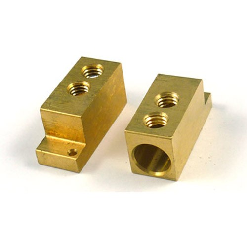 Machined brass terminal bm machining parts china